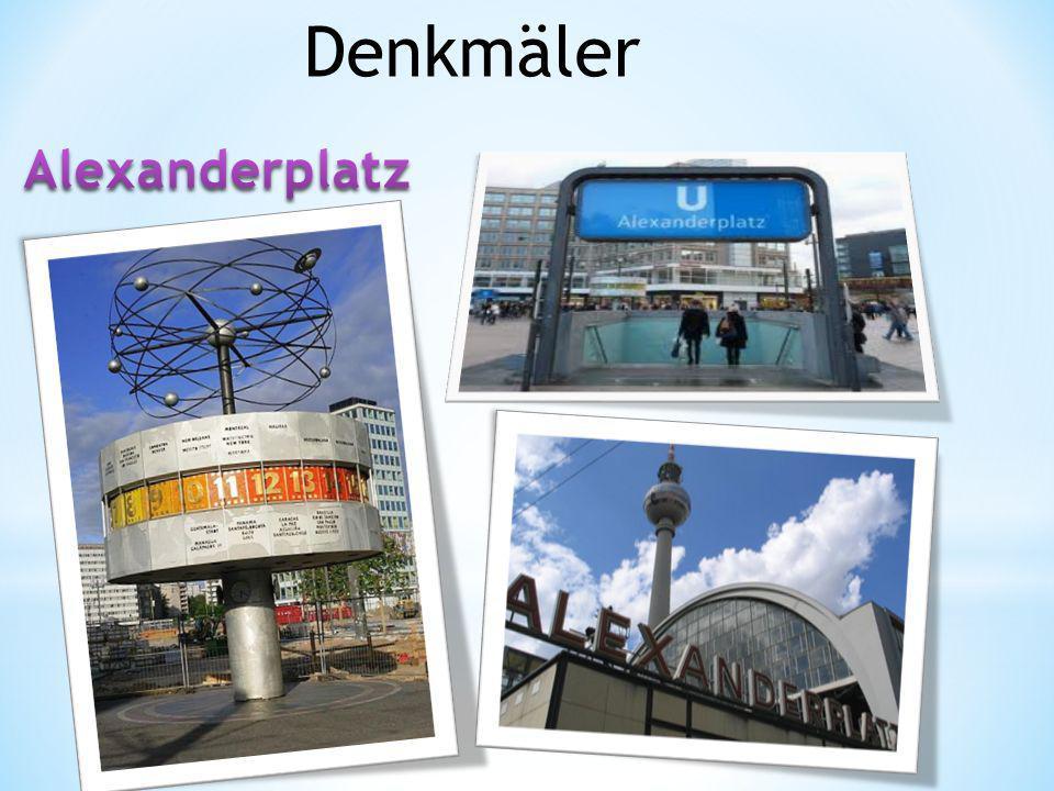 Denkmäler Alexanderplatz