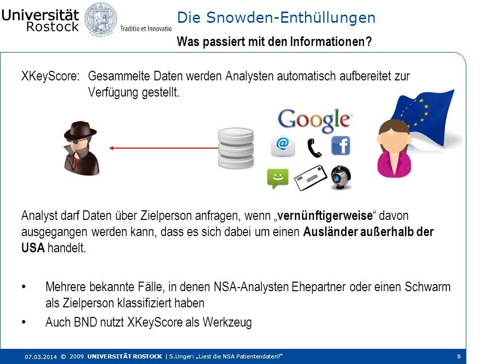 Die Snowden-Enthüllungen