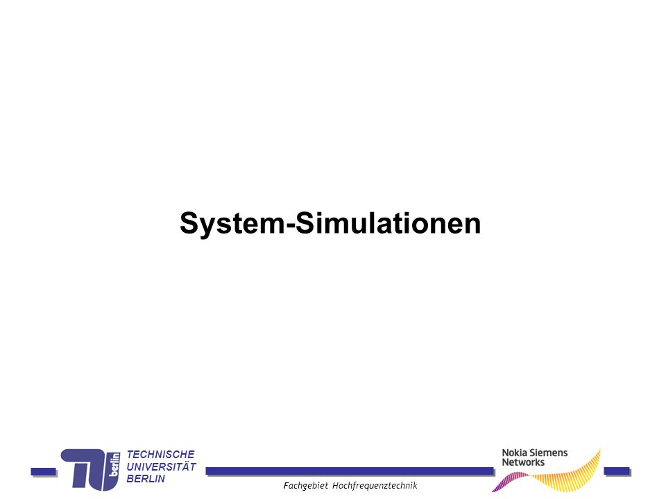 System-Simulationen