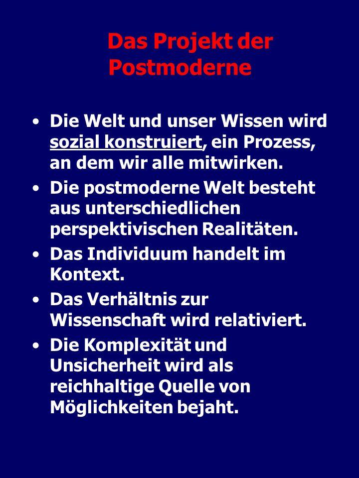 Das Projekt der Postmoderne