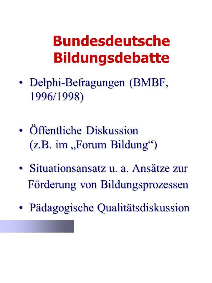 Bundesdeutsche Bildungsdebatte