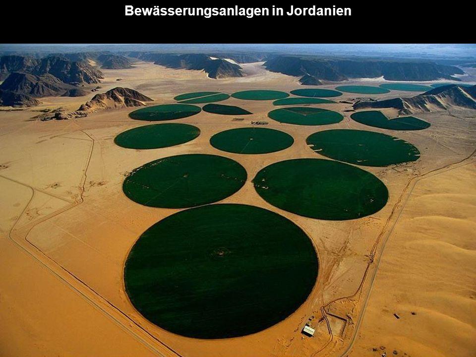 Bewässerungsanlagen in Jordanien