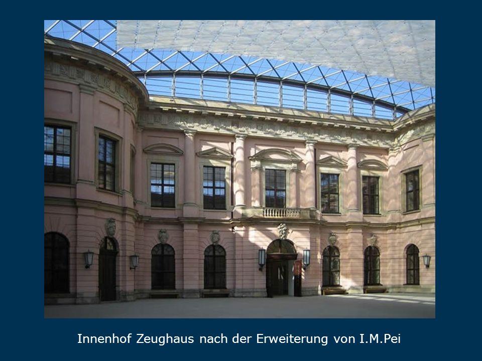 Zeughaus Innenhof Zeughaus nach der Erweiterung von I.M.Pei