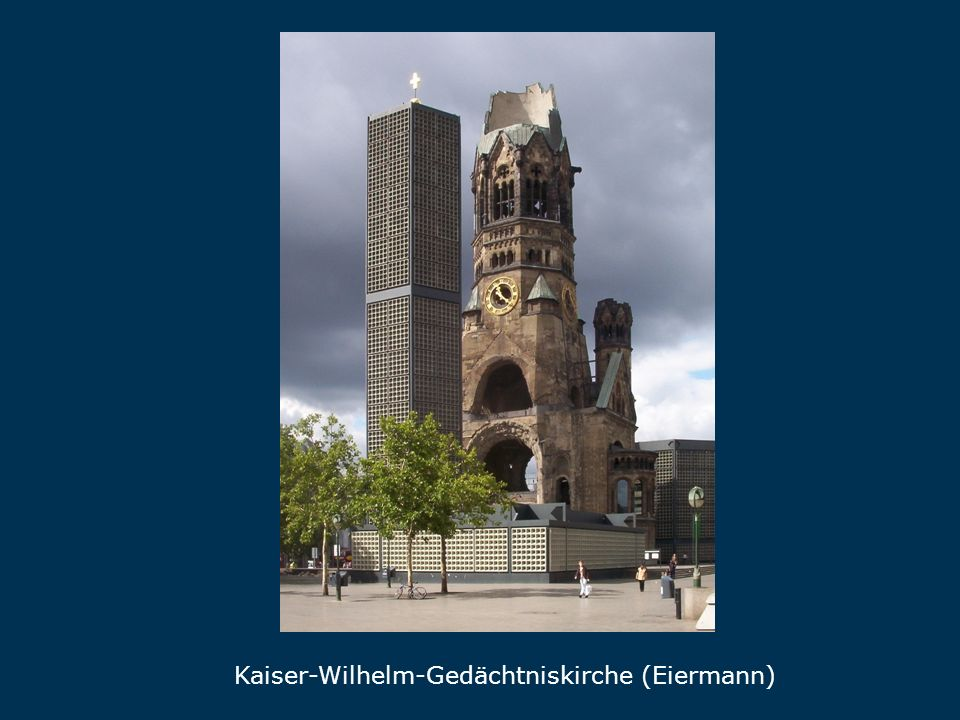 Gedächtniskirche Kaiser-Wilhelm-Gedächtniskirche (Eiermann)