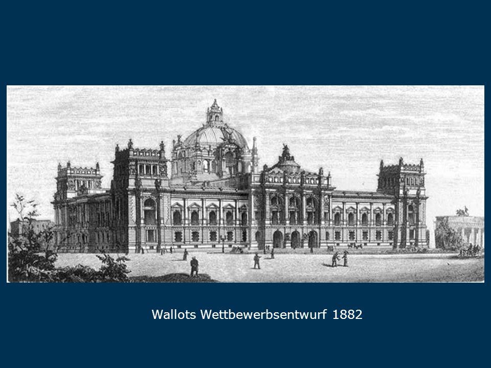 Wallot Wallots Wettbewerbsentwurf 1882