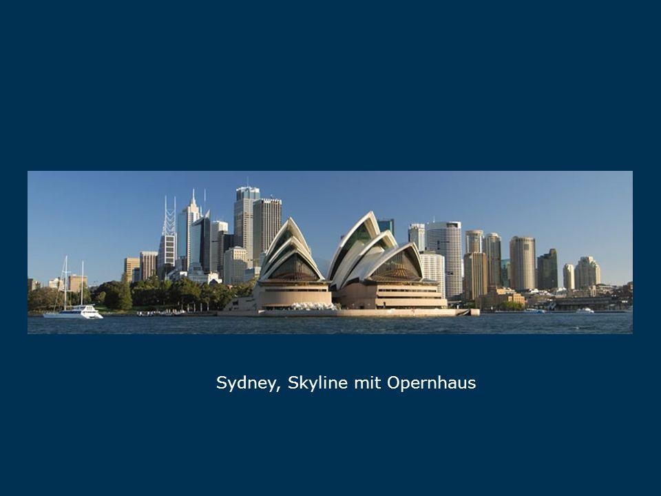 Sydney Sydney, Skyline mit Opernhaus