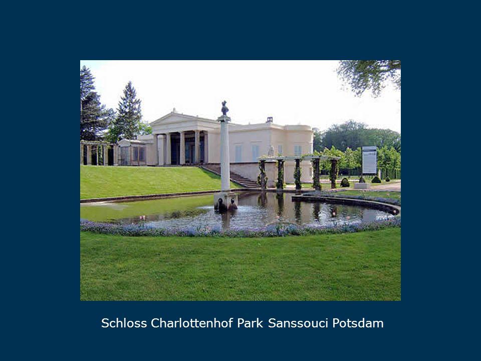 Charlottenhof Schloss Charlottenhof Park Sanssouci Potsdam