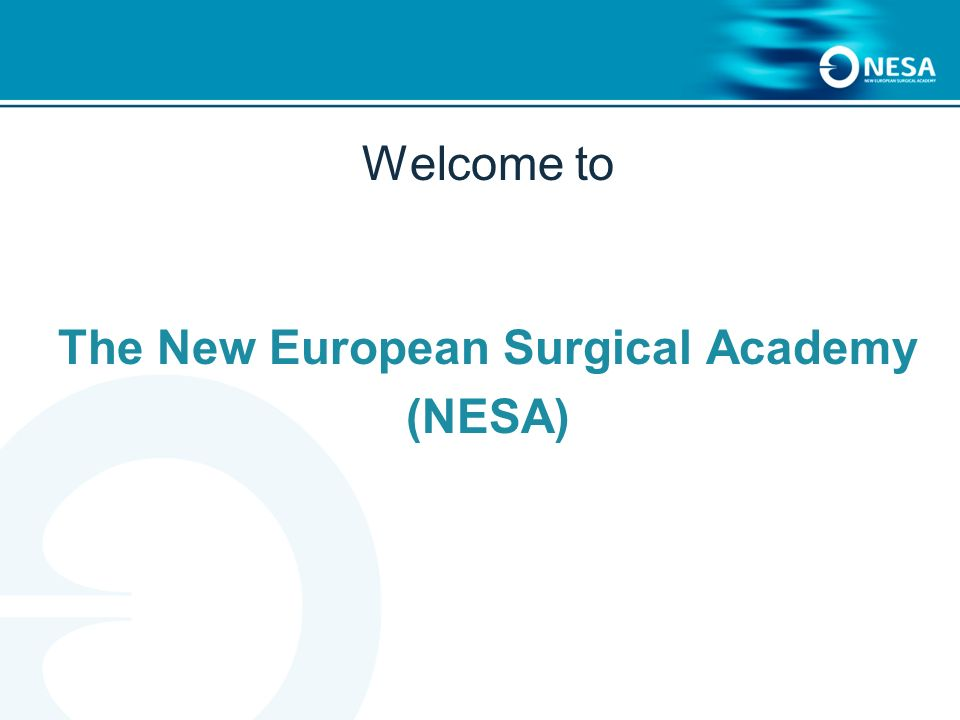 The New European Surgical Academy