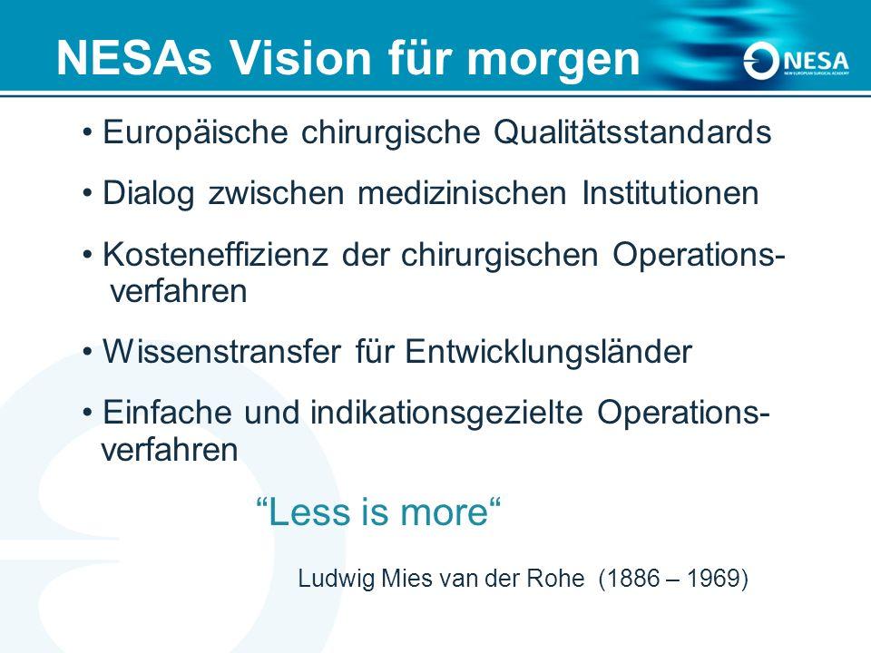 NESAs Vision für morgen