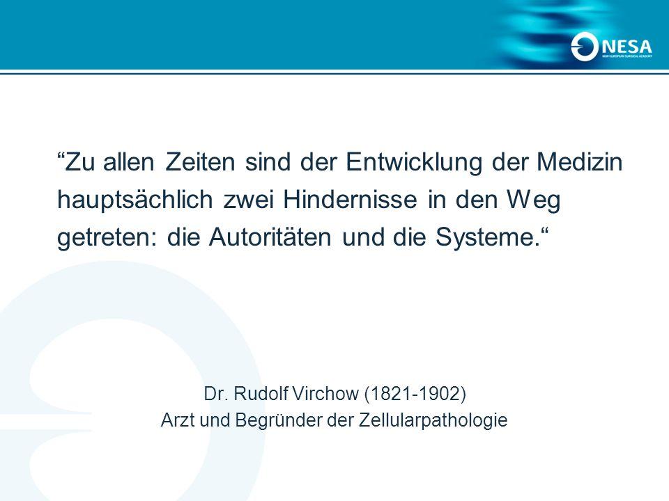 Arzt und Begründer der Zellularpathologie