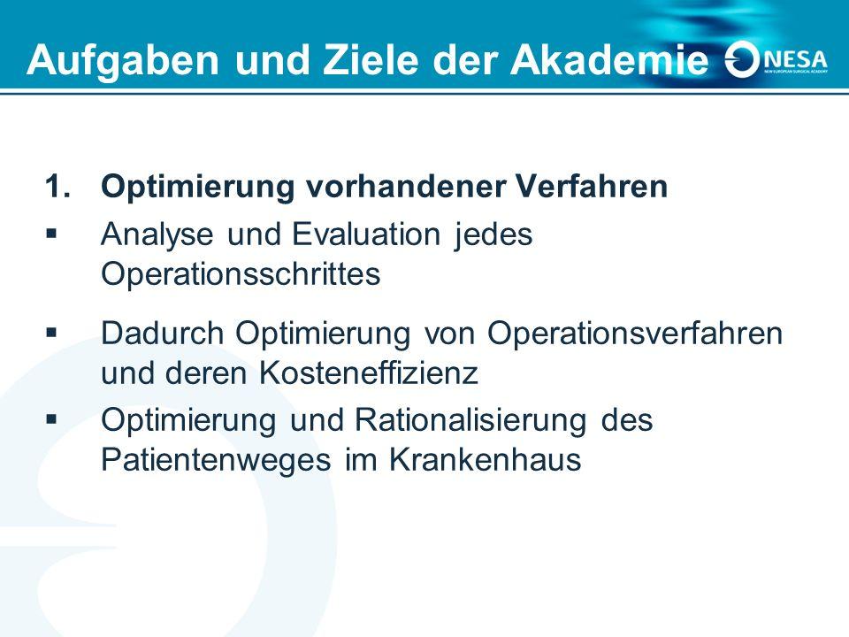 Aufgaben und Ziele der Akademie