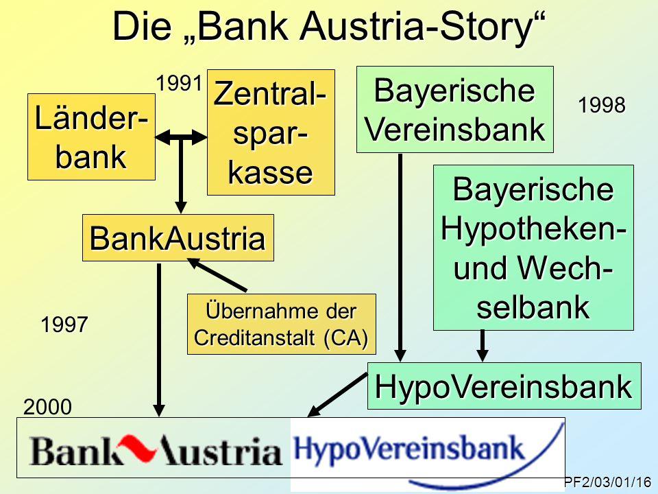 """Die """"Bank Austria-Story"""