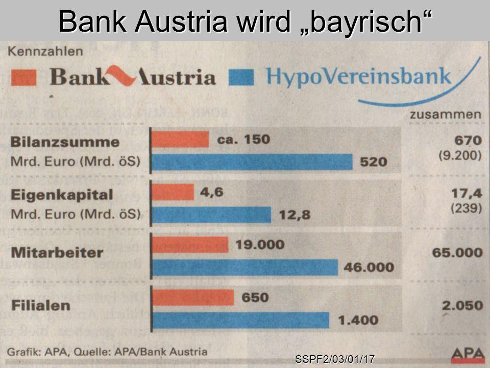 """Bank Austria wird """"bayrisch"""
