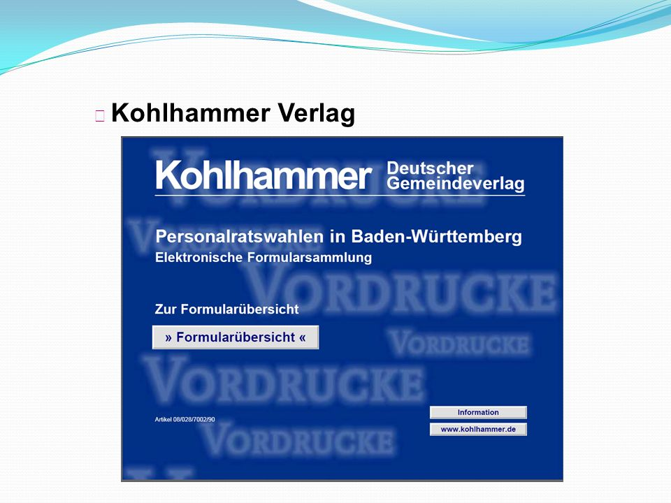 ◆ Kohlhammer Verlag Notizen/ Kommentarauszüge: