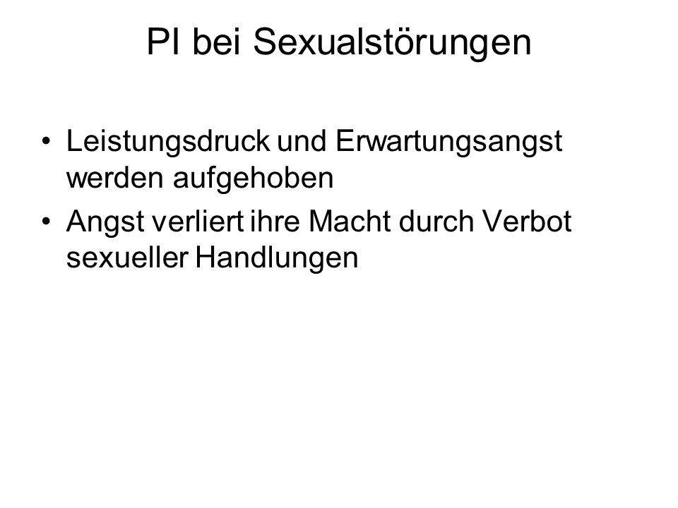 PI bei Sexualstörungen