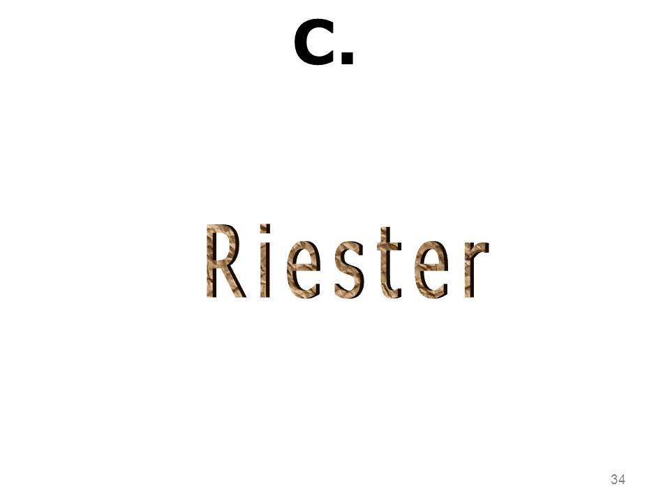 C. Riester 34