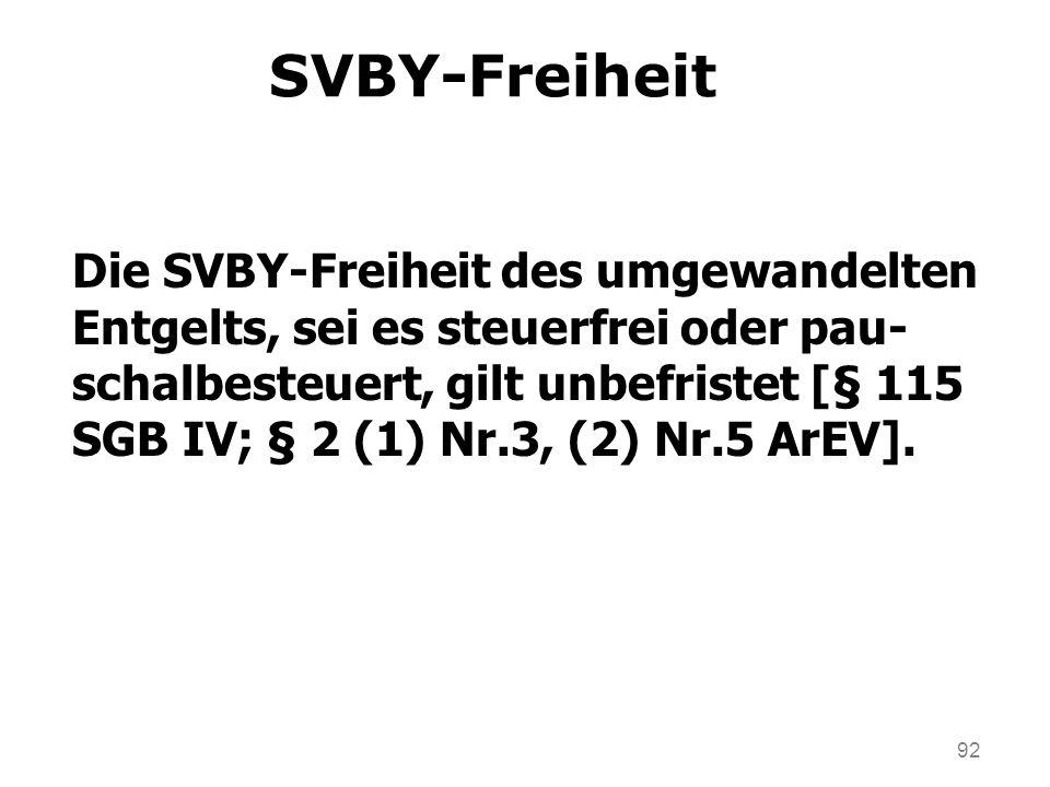 SVBY-Freiheit