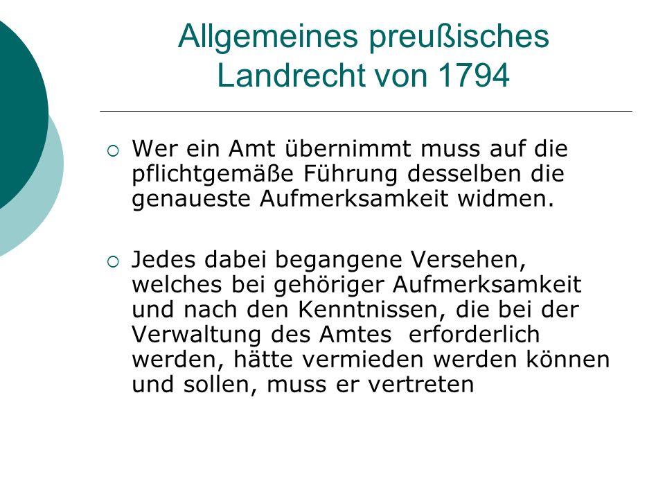 Allgemeines preußisches Landrecht von 1794