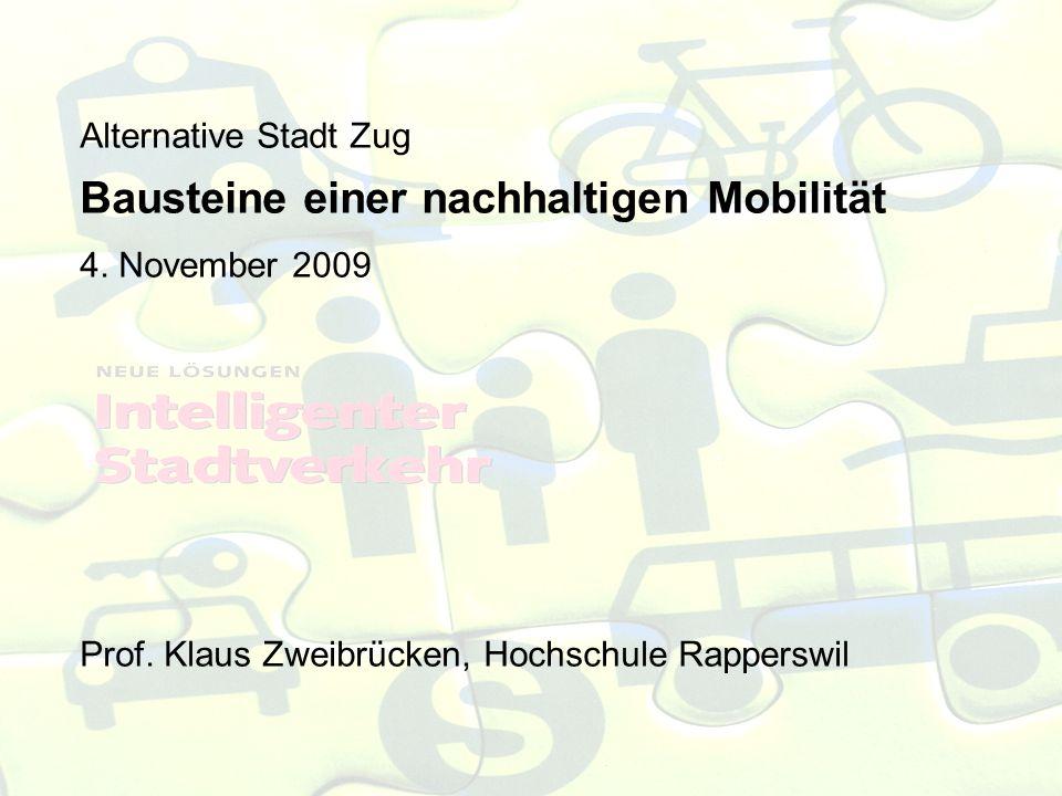 Alternative Stadt Zug Bausteine einer nachhaltigen Mobilität 4