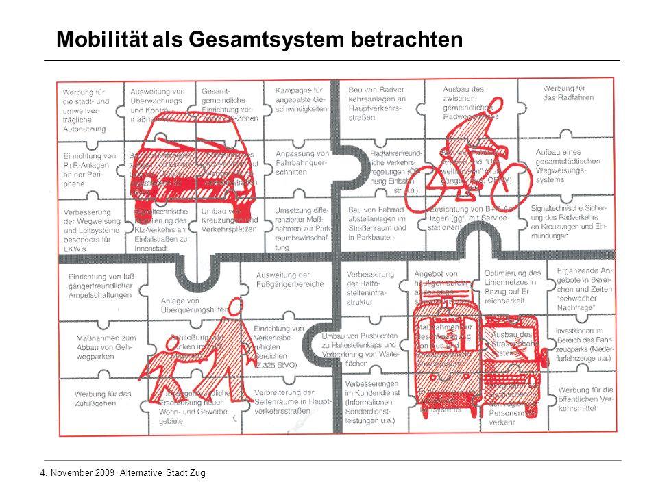 Mobilität als Gesamtsystem betrachten
