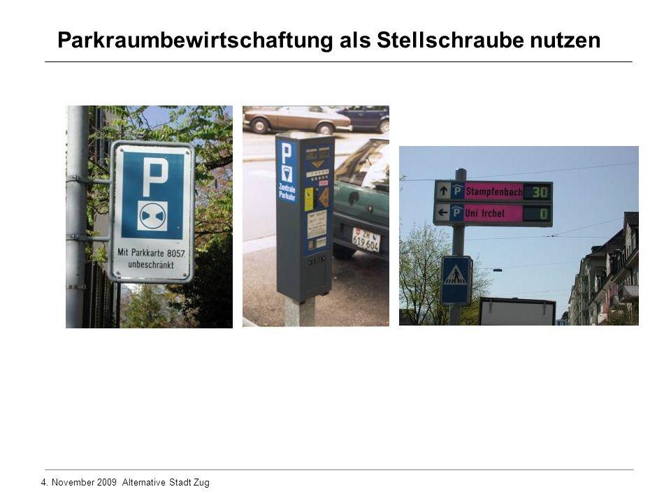 Parkraumbewirtschaftung als Stellschraube nutzen