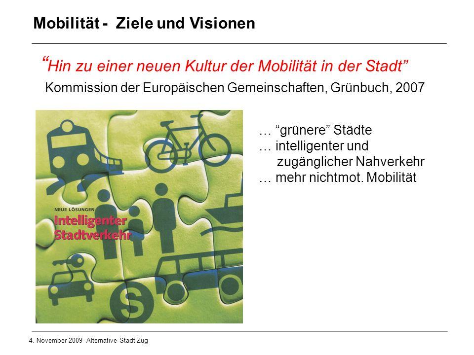 Hin zu einer neuen Kultur der Mobilität in der Stadt
