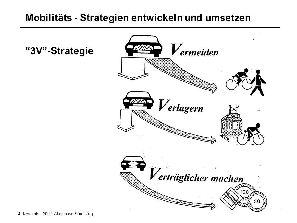 Mobilitäts - Strategien entwickeln und umsetzen
