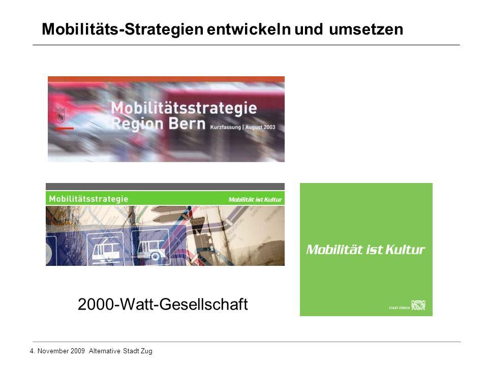 Mobilitäts-Strategien entwickeln und umsetzen