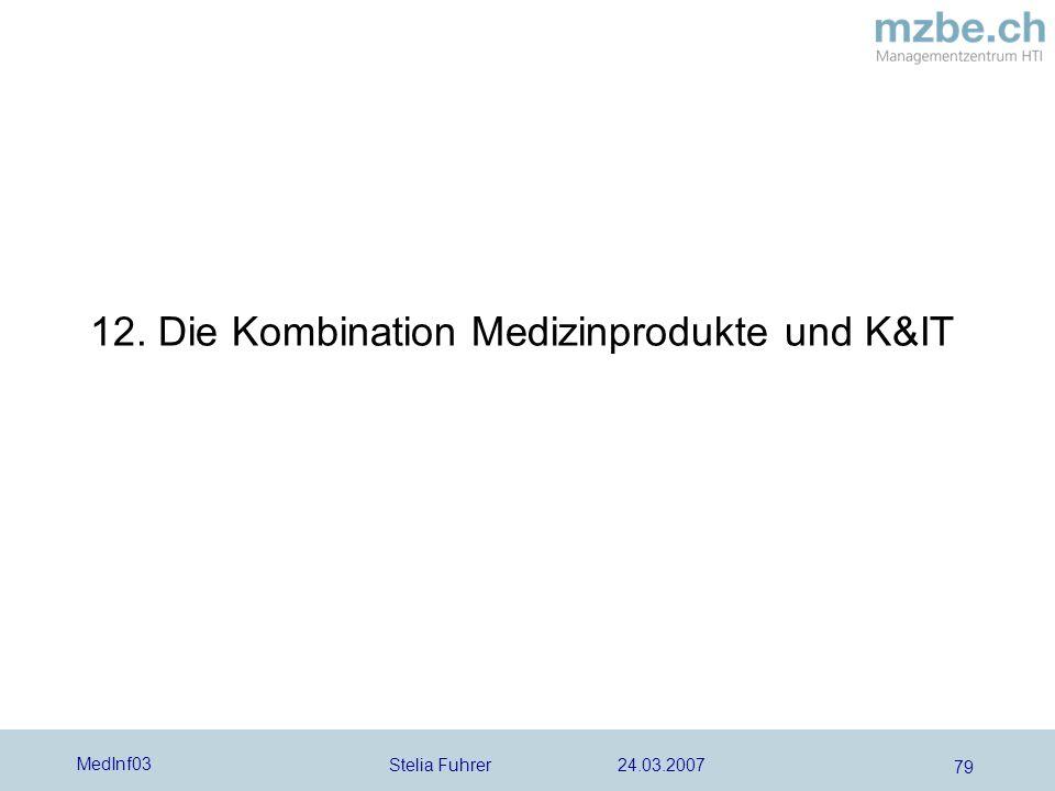 12. Die Kombination Medizinprodukte und K&IT