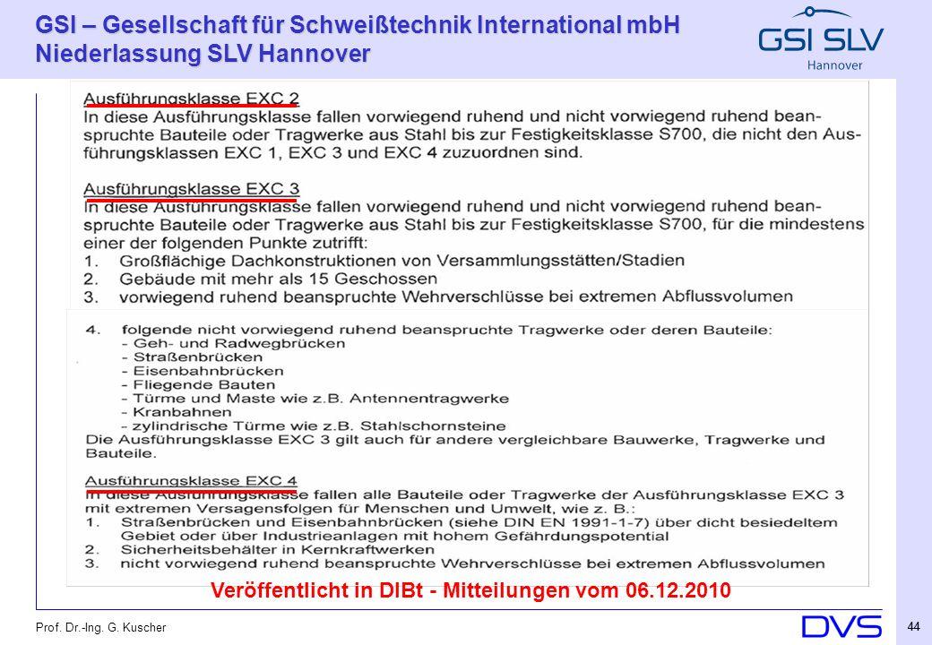 Veröffentlicht in DIBt - Mitteilungen vom 06.12.2010