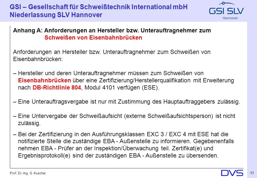 Anhang A: Anforderungen an Hersteller bzw. Unterauftragnehmer zum