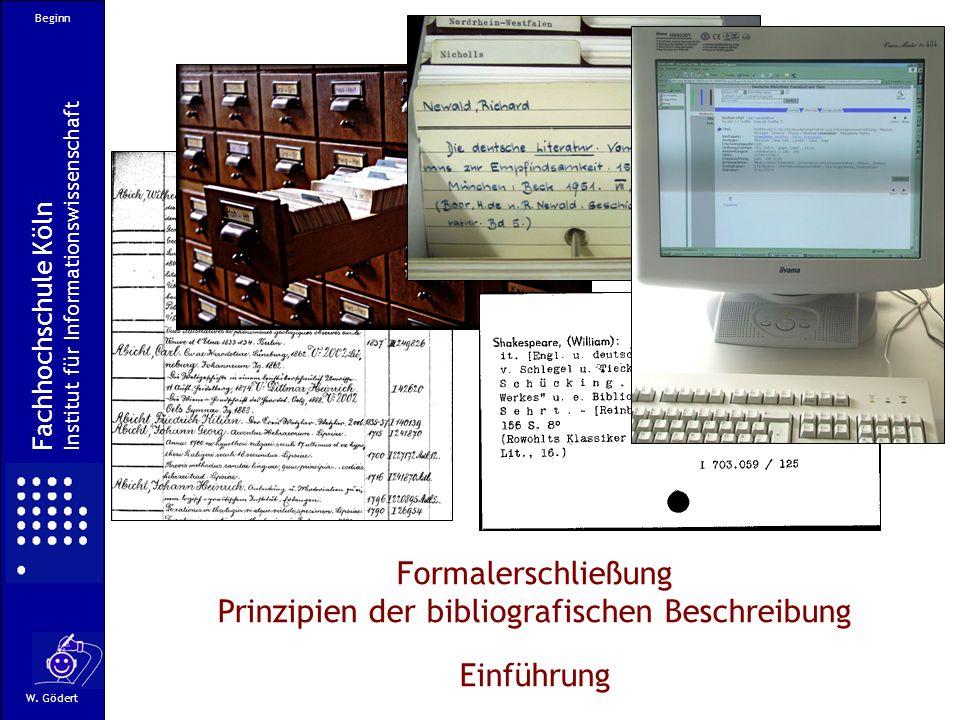 Prinzipien der bibliografischen Beschreibung