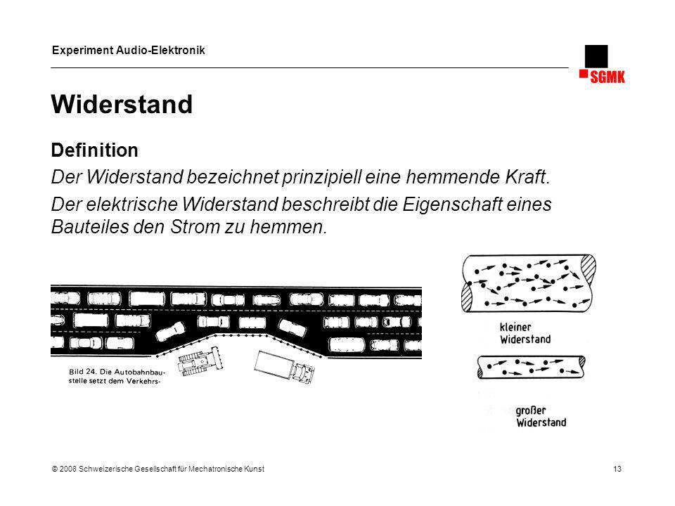 Widerstand Definition