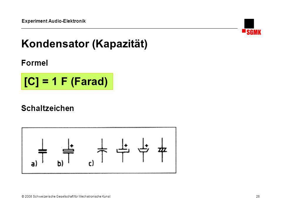 Kondensator (Kapazität)