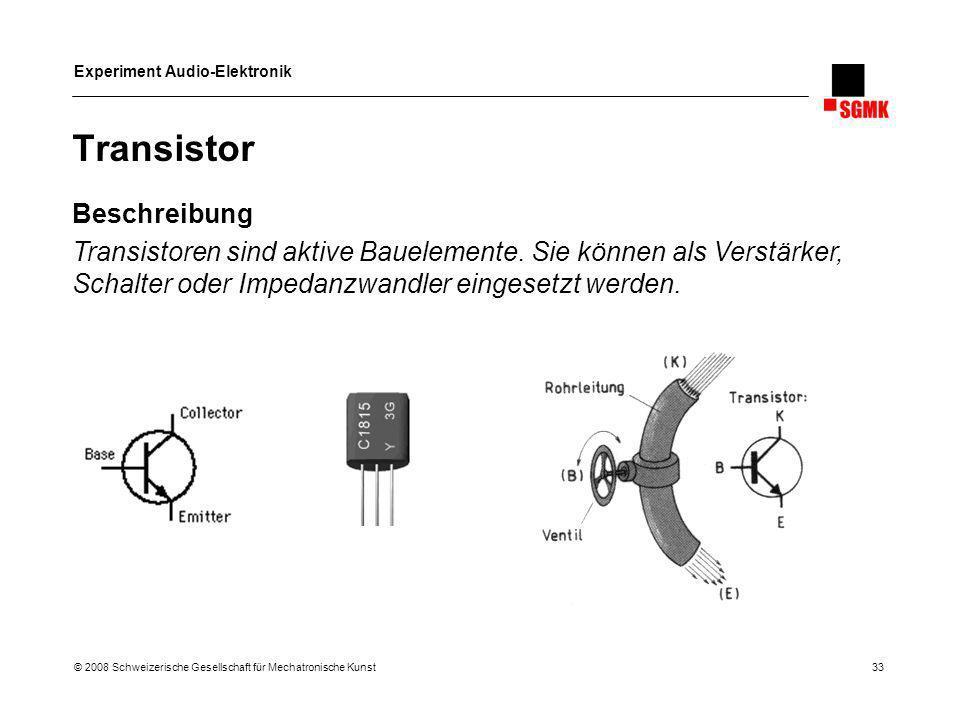 Transistor Beschreibung