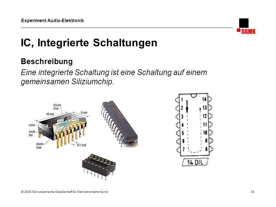 IC, Integrierte Schaltungen