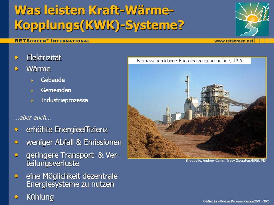 Was leisten Kraft-Wärme-Kopplungs(KWK)-Systeme