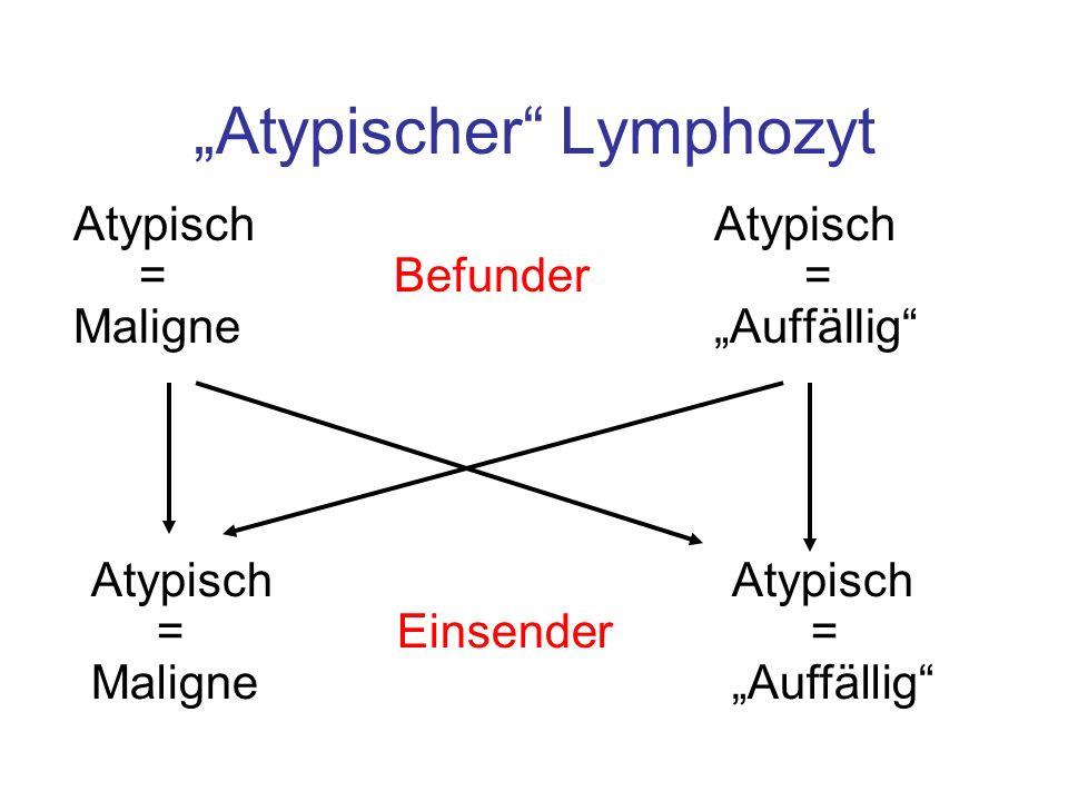 """""""Atypischer Lymphozyt"""
