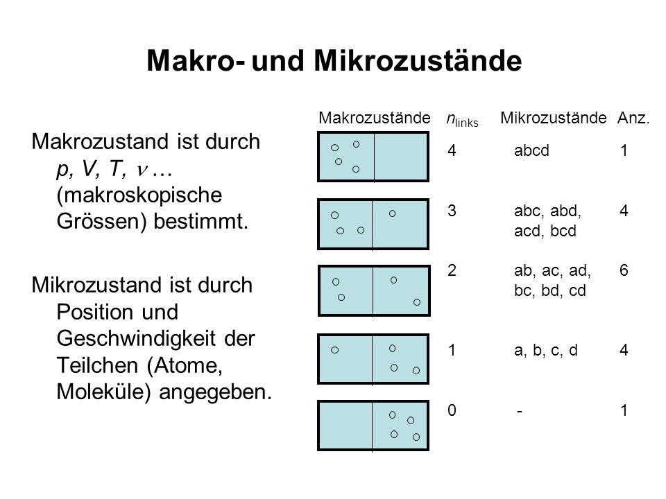 Makro- und Mikrozustände