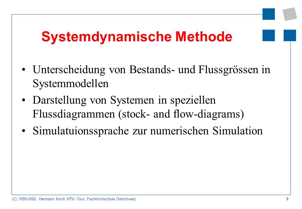 Systemdynamische Methode