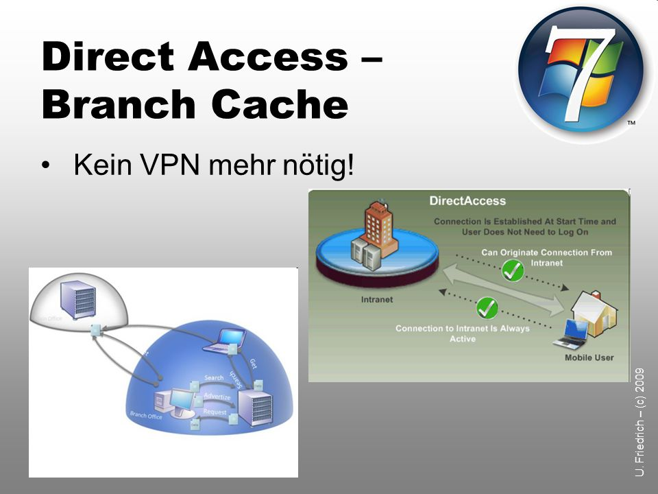 Direct Access – Branch Cache