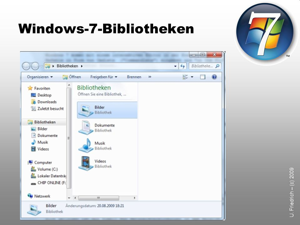 Windows-7-Bibliotheken