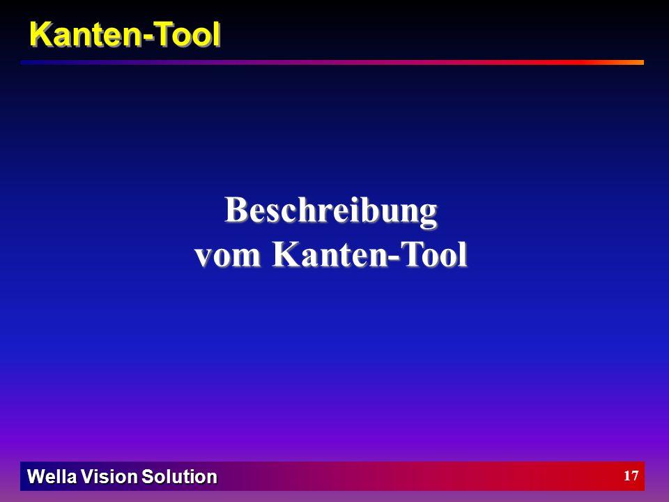 Beschreibung vom Kanten-Tool