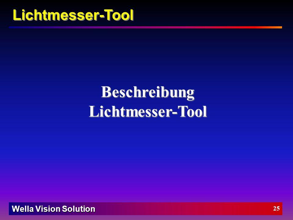 Beschreibung Lichtmesser-Tool