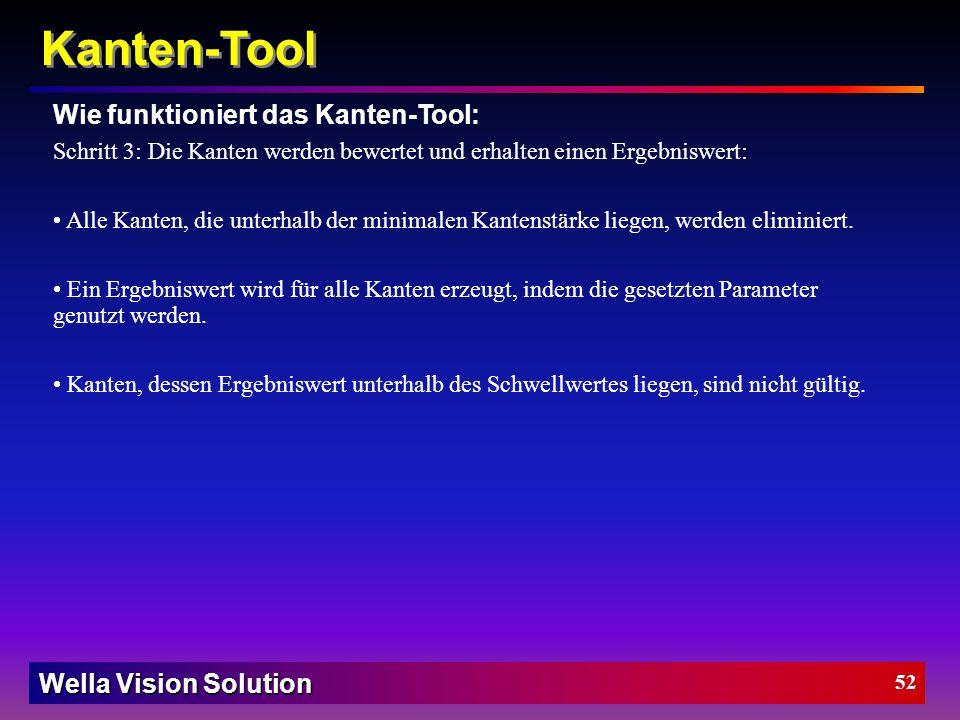 Kanten-Tool Wie funktioniert das Kanten-Tool:
