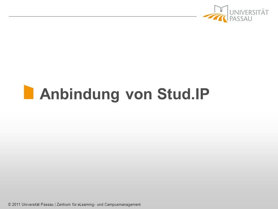 Anbindung von Stud.IP