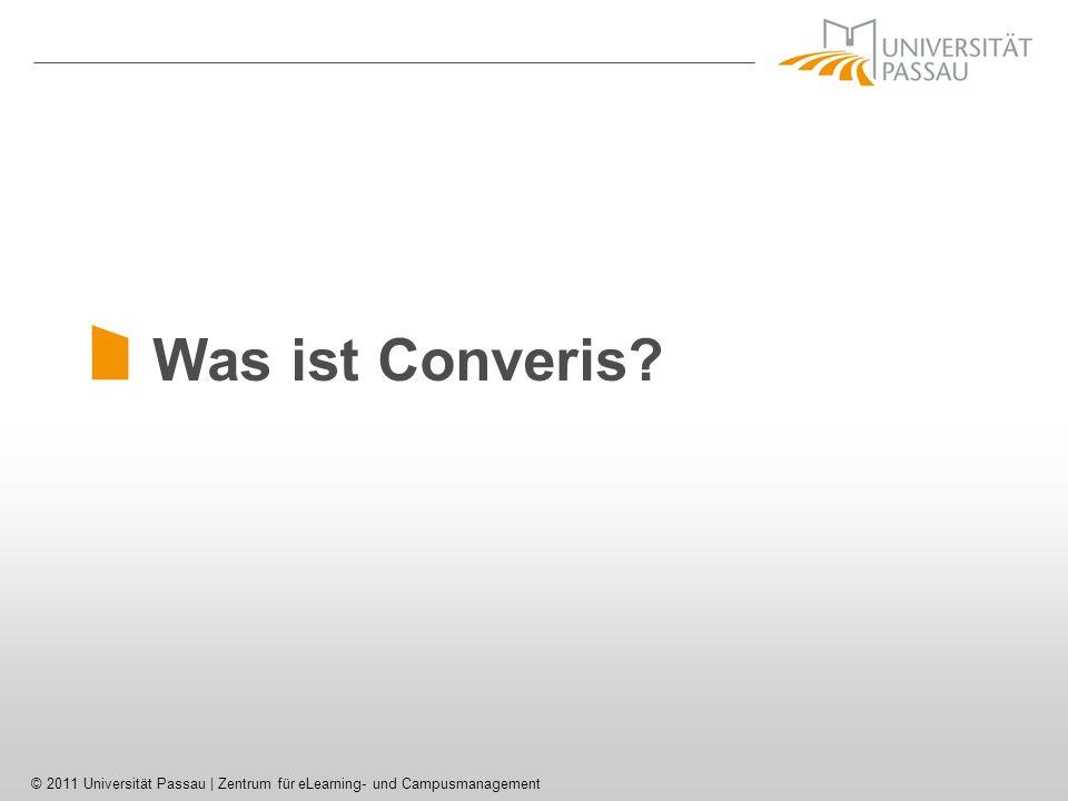 Was ist Converis