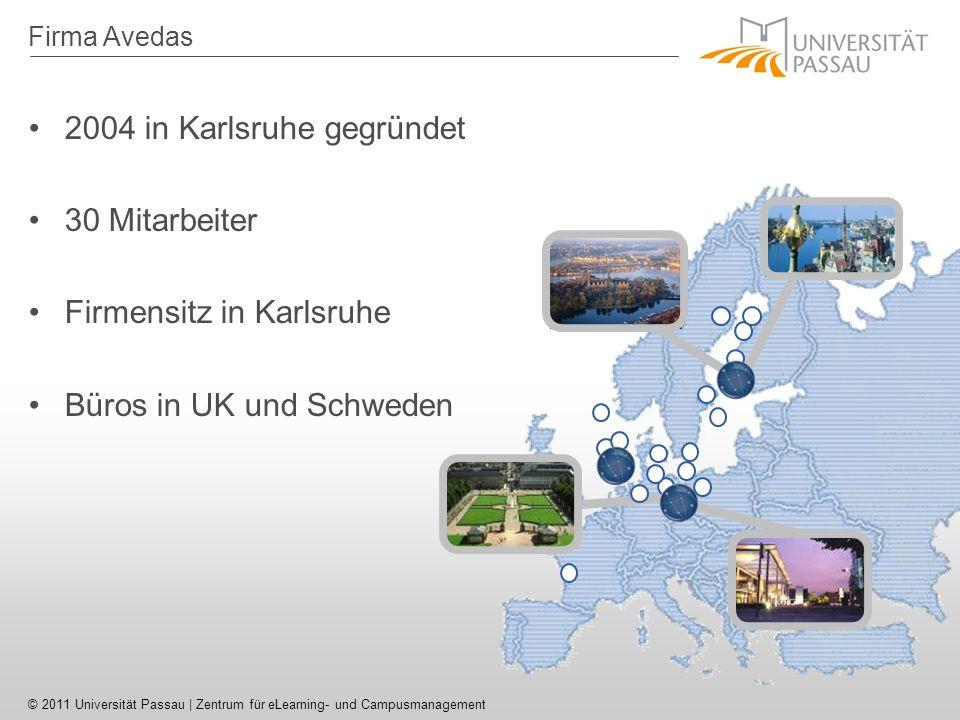 2004 in Karlsruhe gegründet 30 Mitarbeiter Firmensitz in Karlsruhe