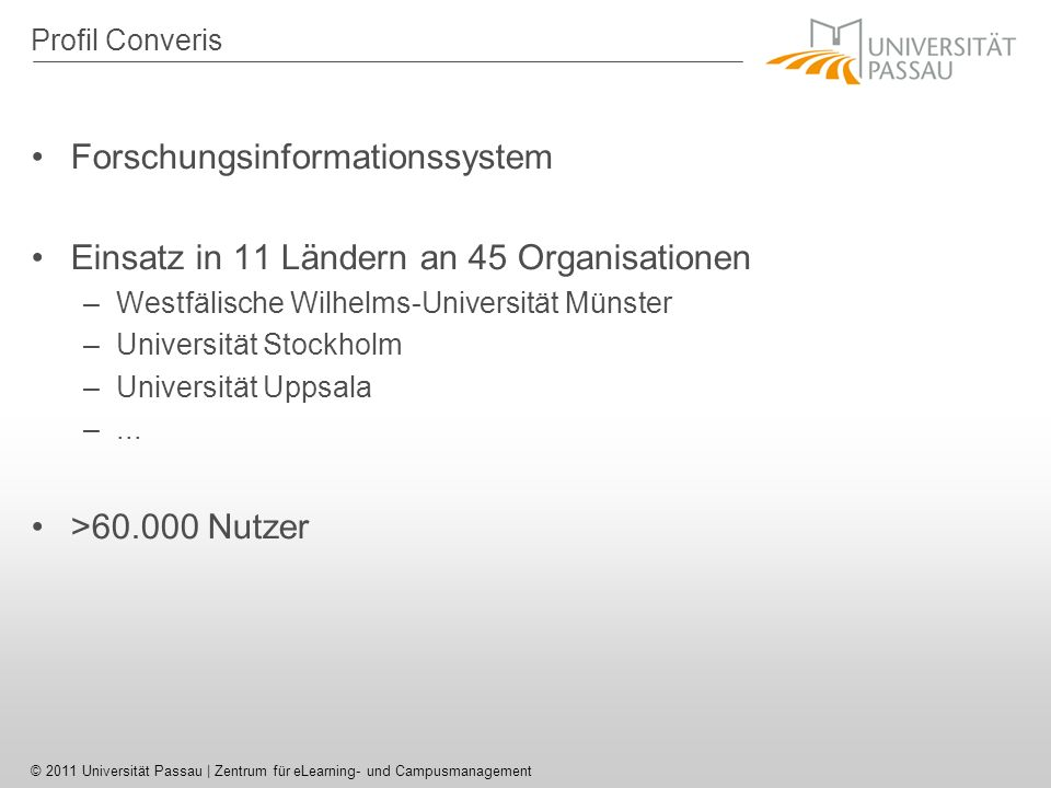 Forschungsinformationssystem