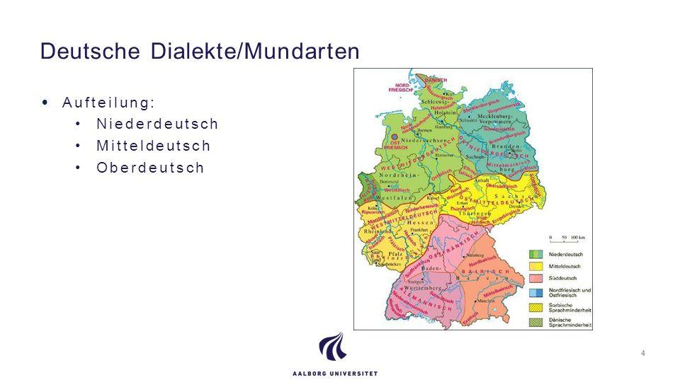 Deutsche Dialekte/Mundarten